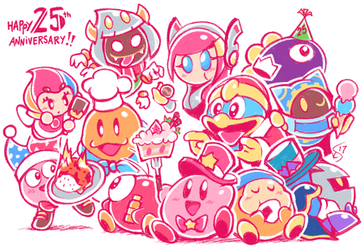 Kirby's 25th by Torkirby