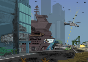 Battle for Port City [Infowars Edition] by SoFDMC
