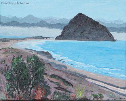 Morro Rock by PaintPencilPhoto