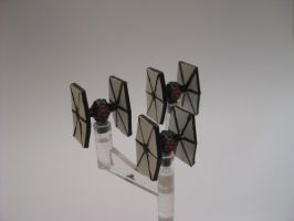 Star Wars Armada Custom - Tie Fighter Special by sadowsk1