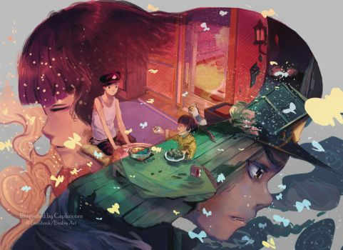Grave of the Fireflies by Closz