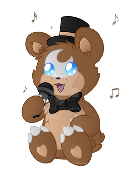 FNaF'mon: Freddyursa~ by Beckitty