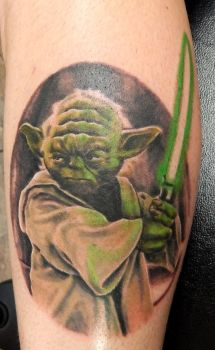 Yoda Tattoo by Yo-G