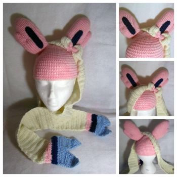 Sylveon Hat by gardensofmay