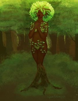 Flourished from Her Roots by Eternal2ndKira