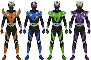 Requested: Kamen Rider Hunter by Taiko554