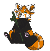 Red Panda Adoptable CLOSED by InaliaFox