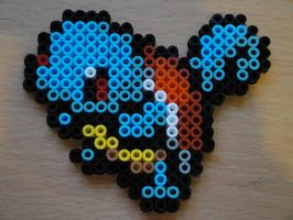 Squirtle Hama Sprite by rinoaff10