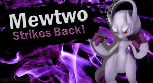 Mewtwo back in SSB4 by Elemental-Aura
