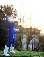 Vegetto cosplay .:The power of fusion:. by Alexcloudsquall