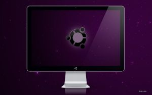 Snow Ubuntu Wallpaper by abh83