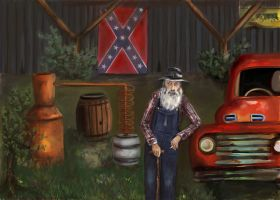 Popcorn Sutton by mreach