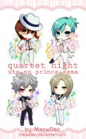 Uta no Prince-sama : QUARTET*NIGHT by MaowDao