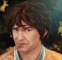 Martin Freeman: The Hobbit by AtTheSpeedOfFetus