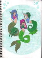 Mermaids by Jellyman