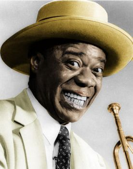 Louis Armstrong by mht85