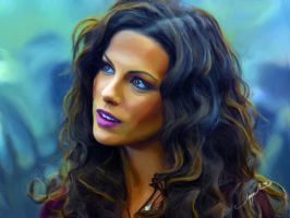 Kate Beckinsale 2 Final by ilker-yuksel