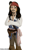 Jack Sparrow by Crestielover