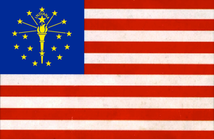 United State of Indiana by NinjaWereWulf