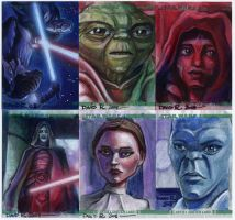 Clone Wars Sketch Cards 2 by DavidRabbitte