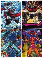 Super Robot Kards Set 2 by fbwash