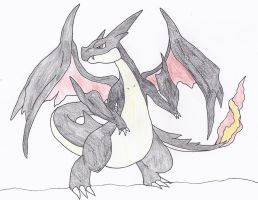 Shiny Charizard Y by NINJAWERETIGER
