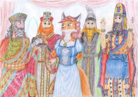 Four Wisemen and a Vixen by Sinaherib