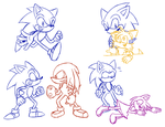 Sonic Sketches by Stolken