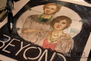 PewDiePie: Beyond, two souls by MissREDfin