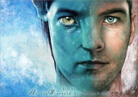 Sam Worthington as Jake Sully by AuroraWienhold