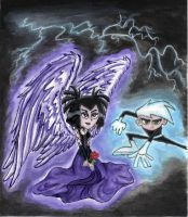 Danny and his angel by Dannys-angel
