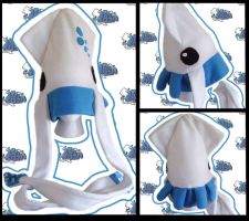 Tintenfisch Squid Hat by Ika-Boushi
