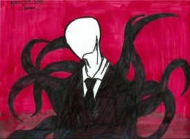 Slenderman by Blueberrybananas06