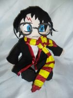 Harry Potter Plushie by lilkimmi27