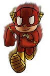 Commission : The Flash : Adammatic by Spychedelic