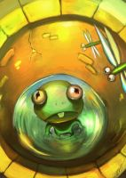a frog in a well by zero-zero-nine