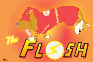 The Flashet Hound2 by K9girl06
