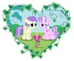 Commission: Alula and diamond tiara by Pearlie-pie