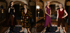 The Hobbit:now and then by art-is-my-bream