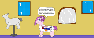 AJ and the english stylist pony pt.11 by thetrans4master