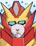 Headshot - Rodimus is confused by D-structive