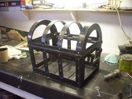 Treasure chest cage by Craftsman107
