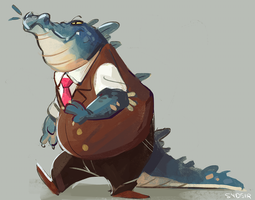 1 - Croc by Sydsir