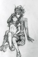 Request: Meulin and Kurloz by Sket-Chee
