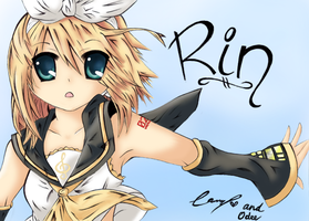 Kagamine Rin by OdeeQuack