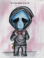 Eyeless Jack creepypasta chibi by ClaudiaVianney