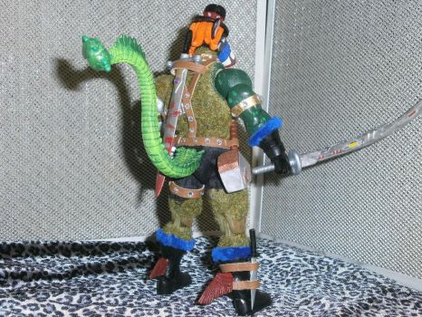 PackRat MotU Custom ActionFigure Back View byGore5 by BooRat