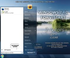 Windows 7 RC Vistart by balderoine