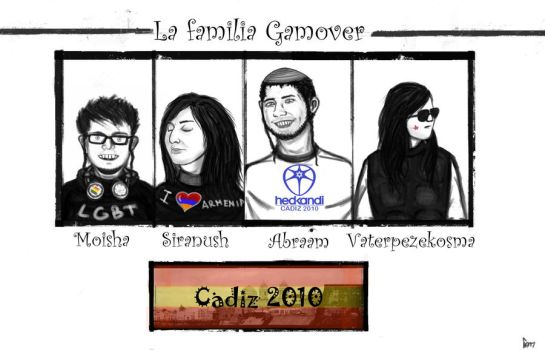 Gamover family by Comissar