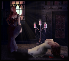 Blood Kiss by SweetLittleVampire